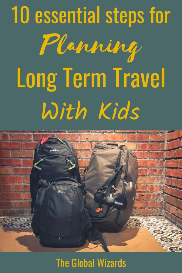 Planning Long Term Travel With Kids