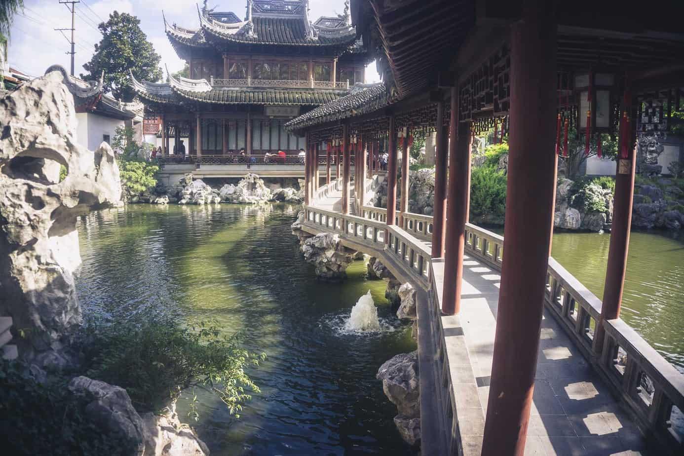 Shanghai Yuyuan Gardens