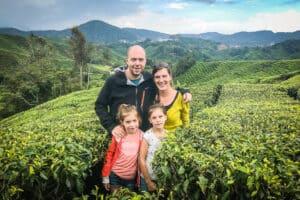 Cameron Highlands Malaysia Boh Tea Family