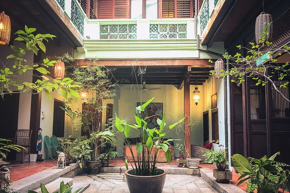 East Indian Mansion Hotel George Town Heritage