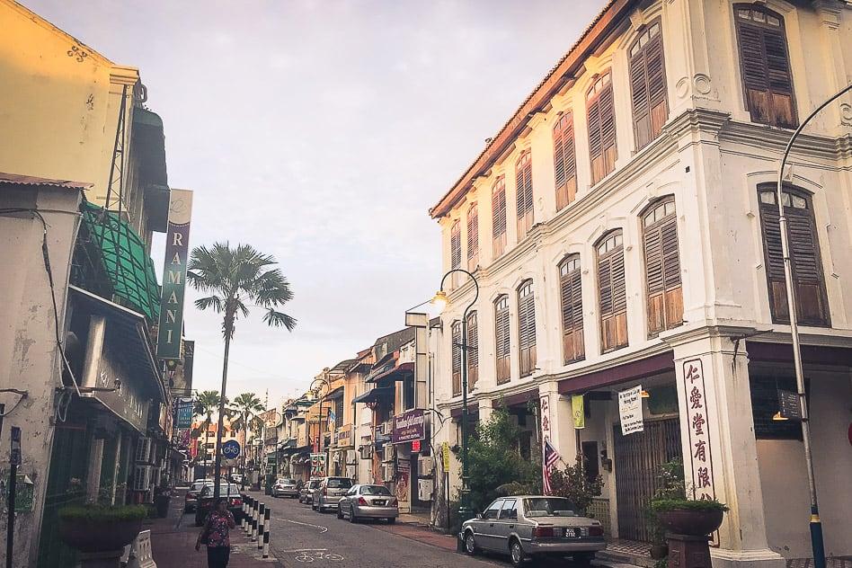 Travel diary George Town Kids Malaysia