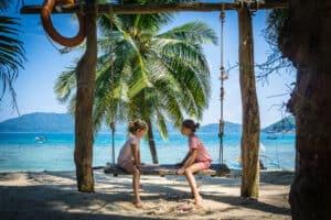 Tioman Island Lagoon Perhentian Malaysia Kids
