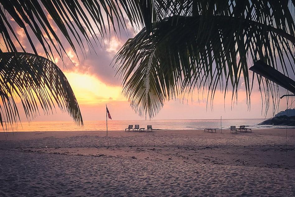 Tioman Island Bushman Sunrise