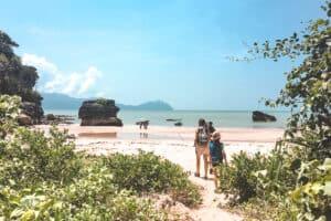 Beach Bako National Park Borneo Jungle Walk Kids