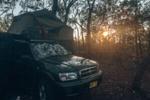 Litchfield National Park 4WD with rooftop tent