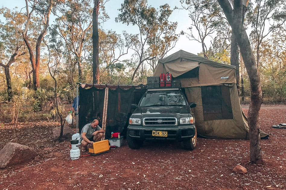 Camping Litchfield National Park 4WD