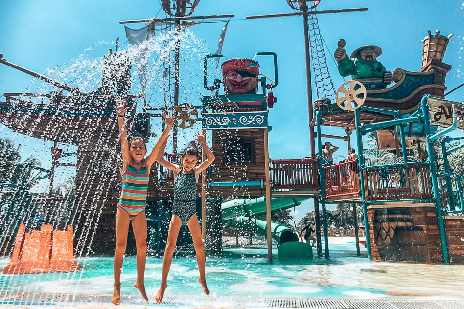 Sentosa island Water Park Fun Kids
