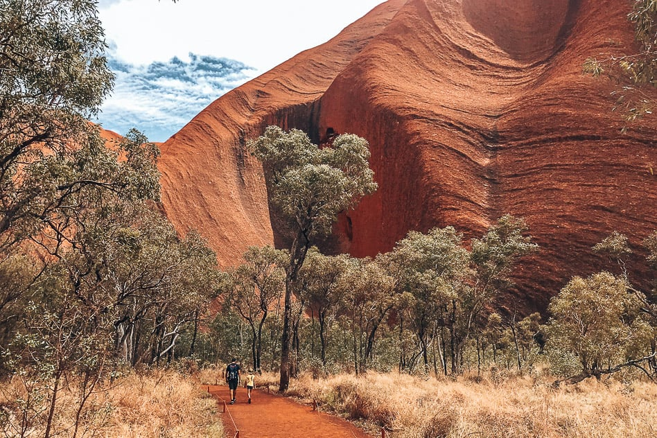 Uluru Ayers Rock Base Walk
