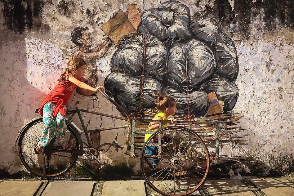 Ipoh Street Art Garbage Malaysia
