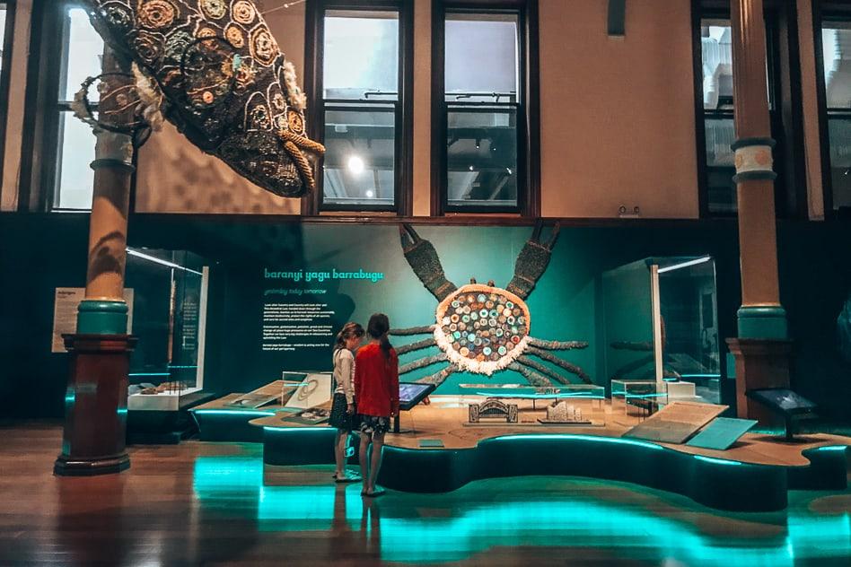 Australian Museum Kids Aboriginals Sydney
