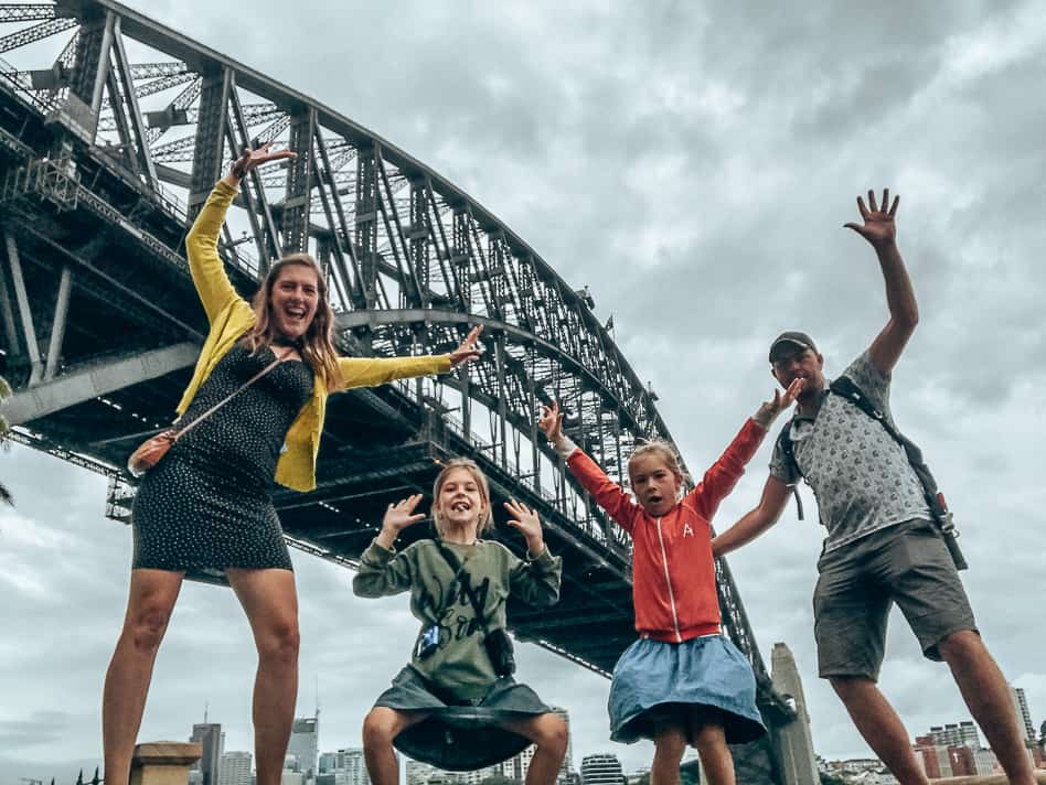 Sydney Harbour Bridge Family Crazy