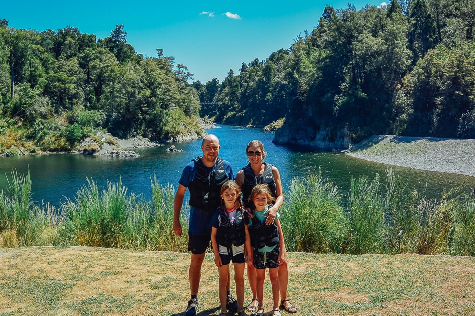 Kayaking Tour Pelorus Eco Adventures River Family