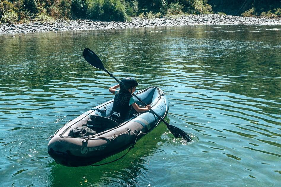Pelorus River Eco Adventures Kayak Child Kid