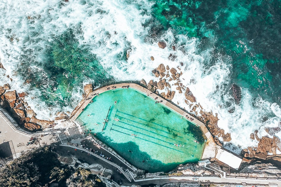 Bronte Beach Swim Rock Pool Sydney