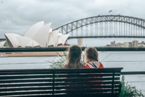 Sydney View Kids Harbour Bridge Opera House