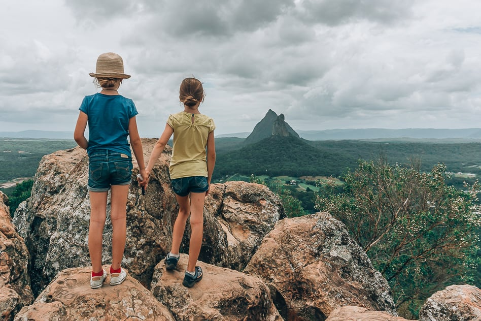 Mount Ngungun Glass House Mountains Australia Walk Climb