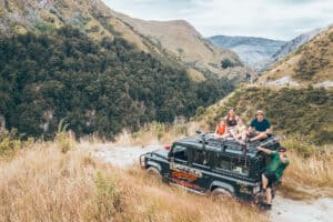 Jeep Nomad Safaris Queenstown New Zealand Adventure Family