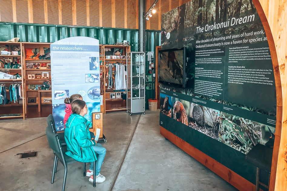 Visitor Centre Information Orokonui Ecosanctuary New Zealand