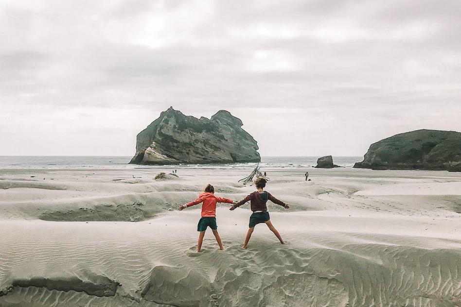Southern Island Road Trip Wharariki Beach