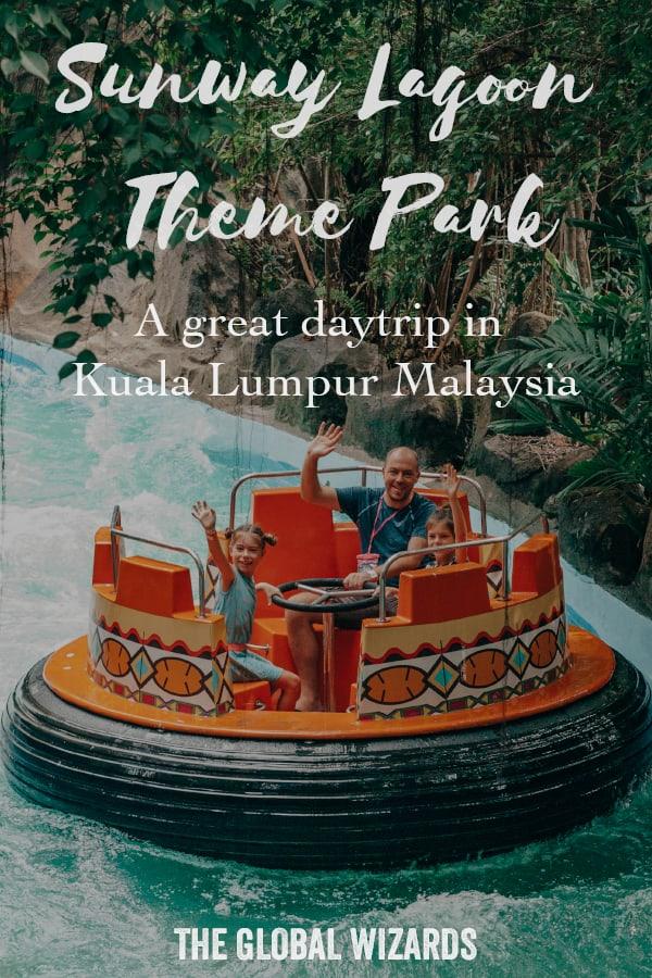 Sunway Lagoon Theme Park Kuala Lumpur Day trip Family