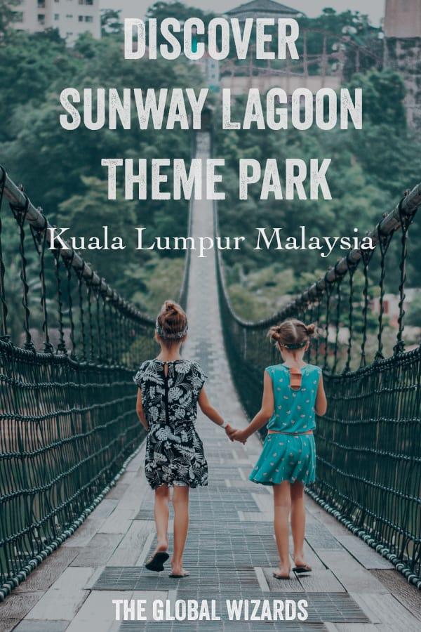 Family Trip Sunway Lagoon Theme Park Kuala Lumpur