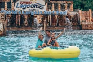 Kuala Lumpur Water Fun Family Sunway Lagoon Theme Park