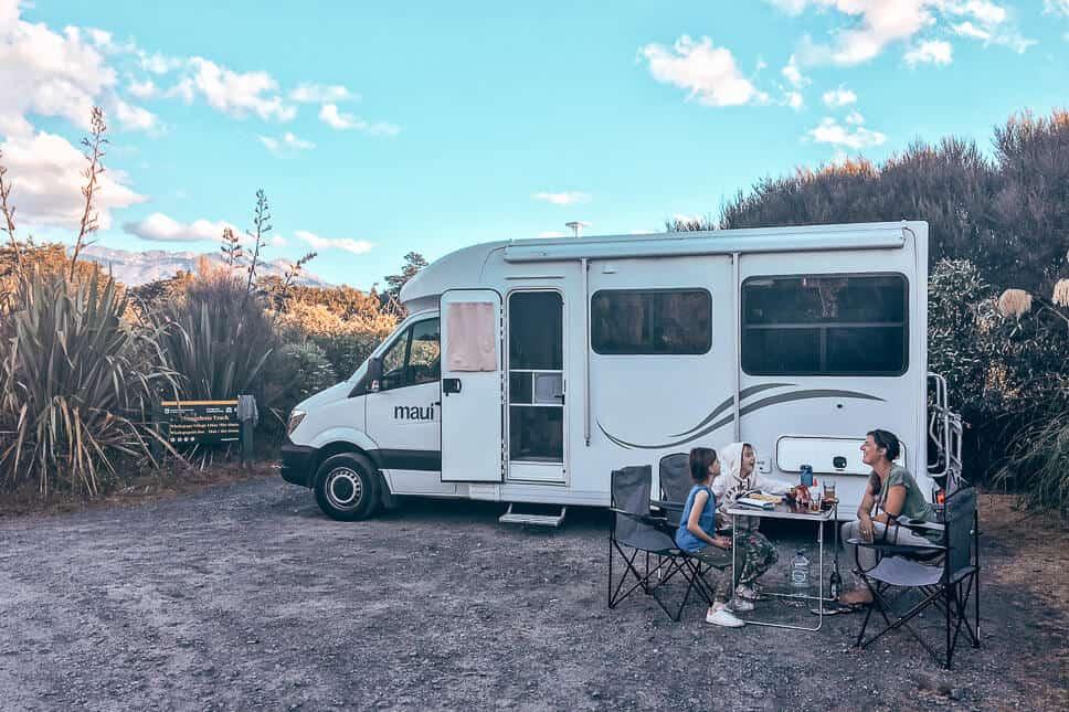 Travel Diary Family Kids Road Trip Northern Island New Zealand