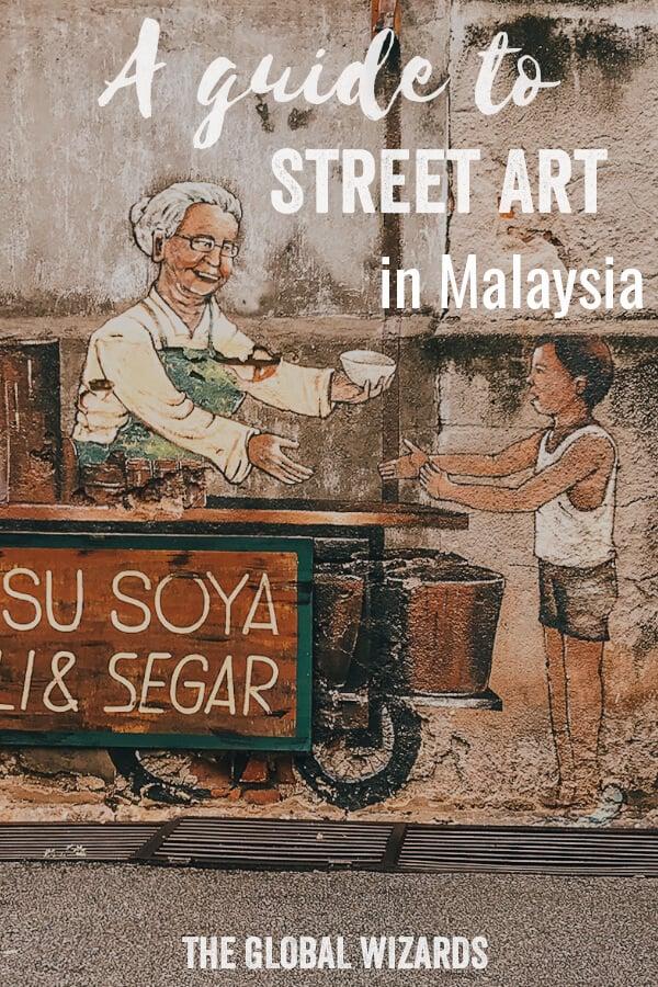 Street Art Malaysia Experience Pinterest