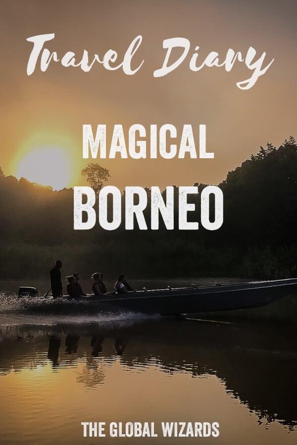 Pinterest Borneo Travel Diary Malaysia Jungle