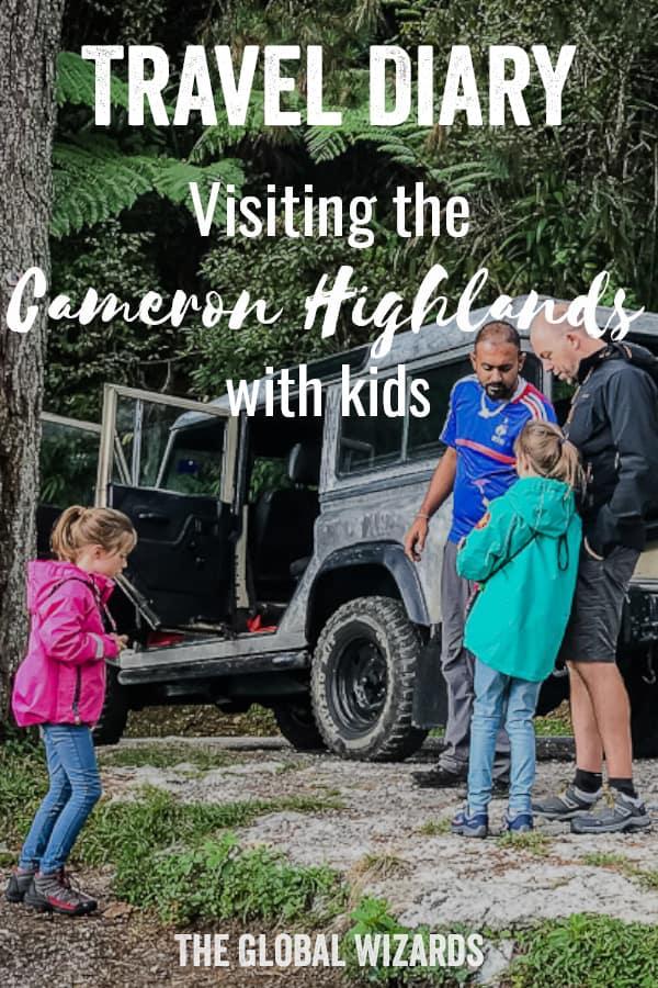 Pinterest Cameron Highlands Kids Jeep Tour Malaysia