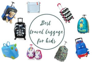 Travel Luggage Kids Toddler Teens Trolley Suitcase