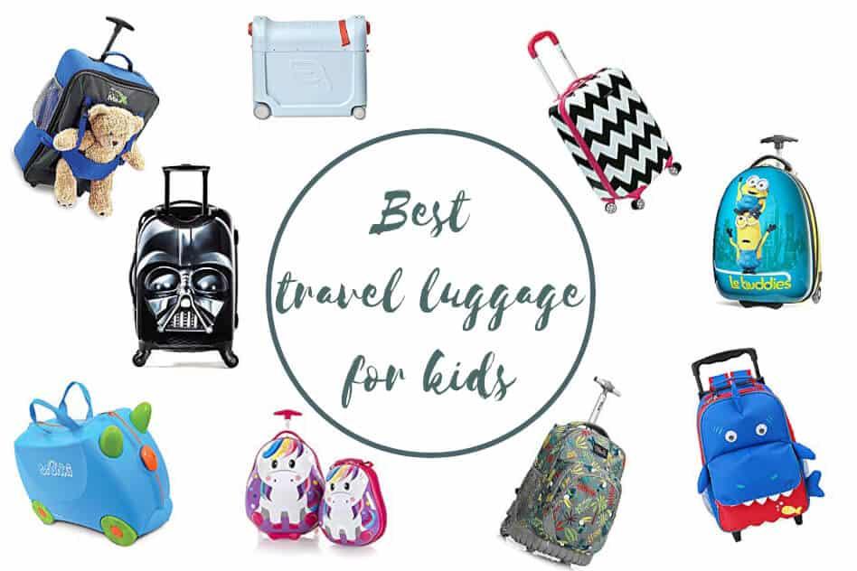 Travel Luggage Kids Toddler Teens Trolley Suitcase