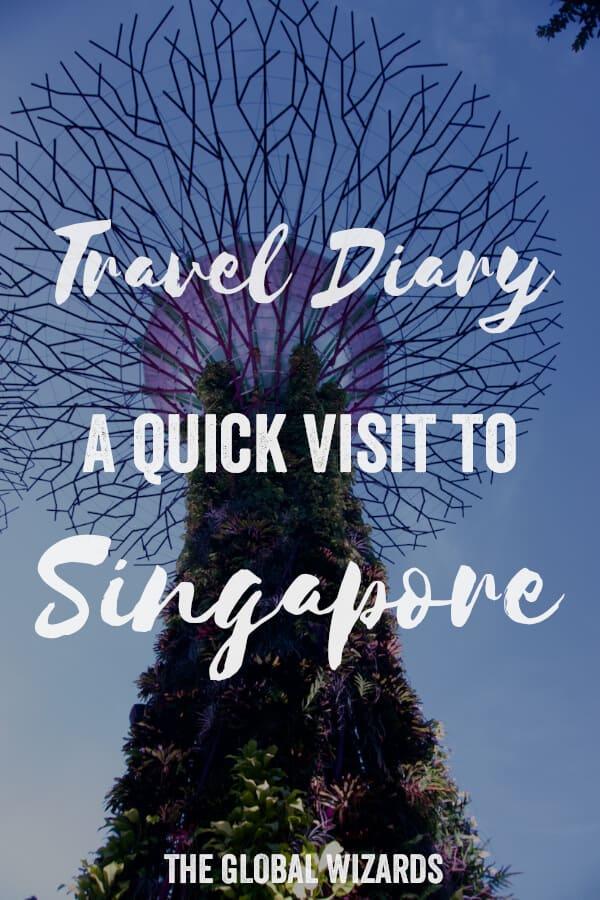 Travel Diary Singapore Quick Visit