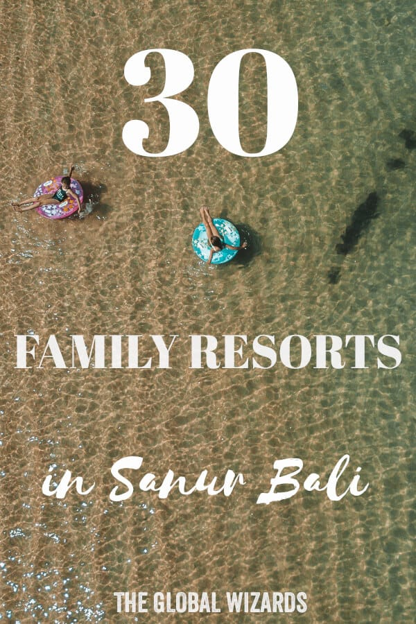 Best Family Resorts Sanur Bali Pinterest