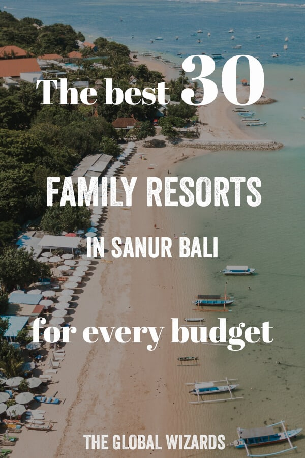 Best Family Hotels Sanur Bali Budget