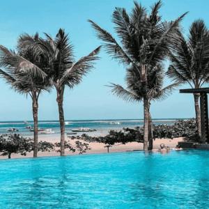 Infinity Pool Fairmont Sanur Bali