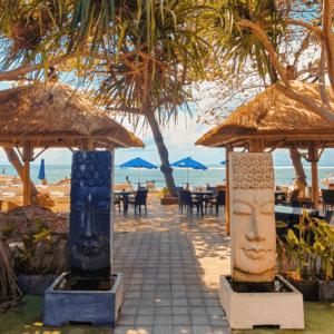 Beachside restaurant Inna Sindhu Sanur Bali