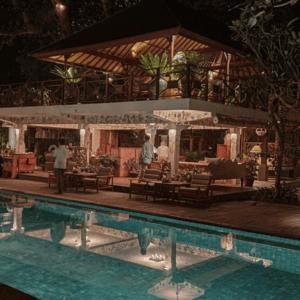 Pool Tandjung Sari Family Hotel Sanur