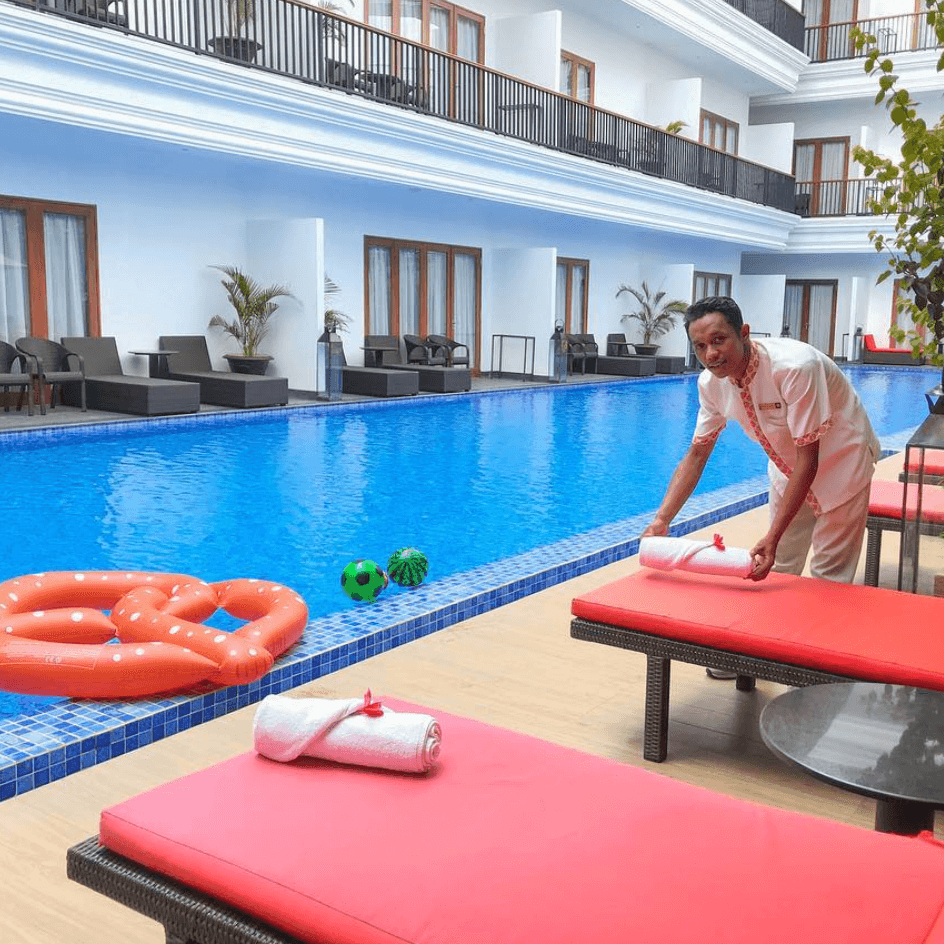 Family Hotel Grand Palace Sanur Bali