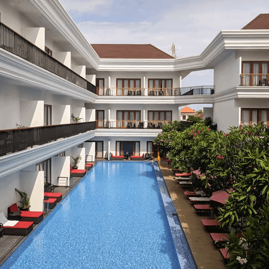 Pool Grand Palace hotel resort Sanur bali