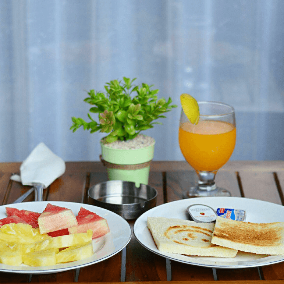 Breakfast Budget Family Resort Puri Kesari Sanur