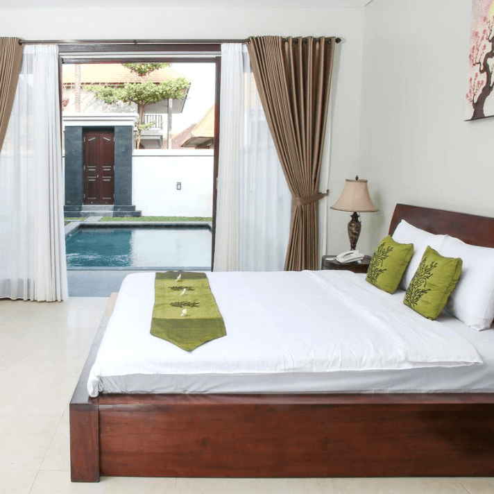 Room Linda Villas Pool Sanur Bali