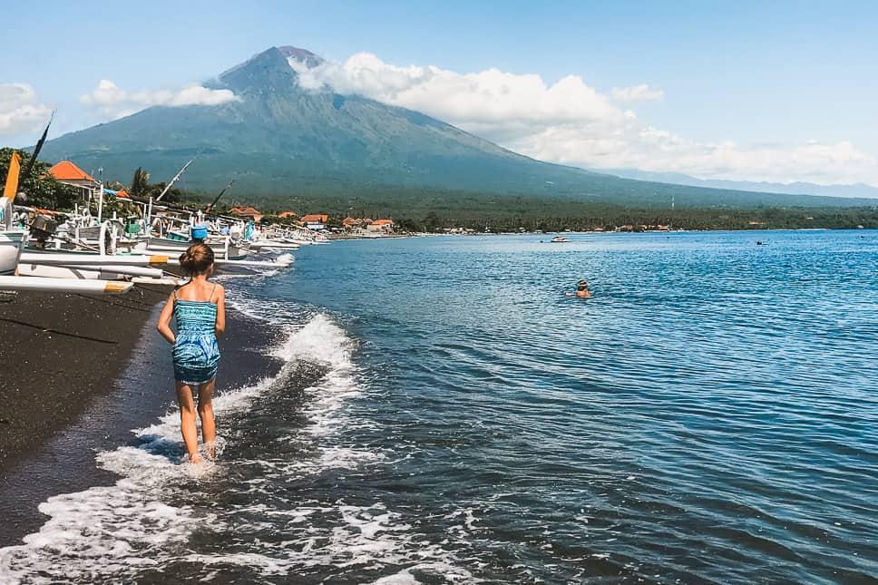 Mount Agung Amed Bali Beach