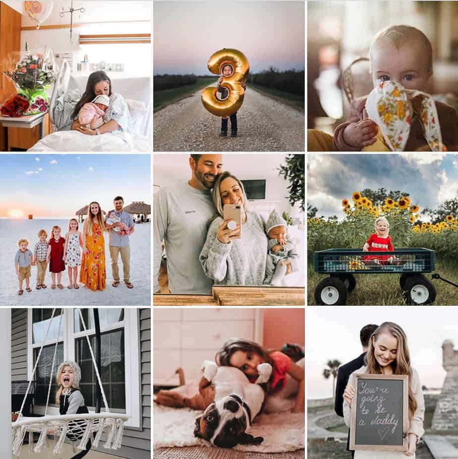 Parenthood Moments Instagram Feature Accounts