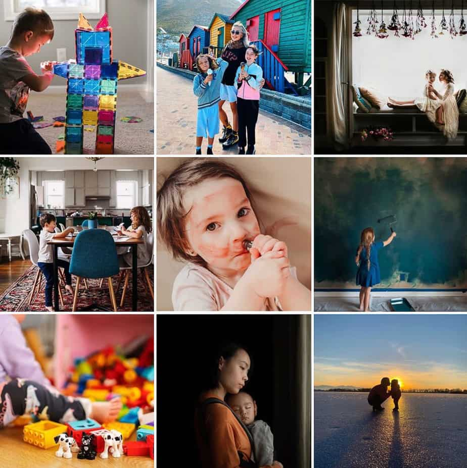 Motherhood Is Colorful Feature Accounts Moms