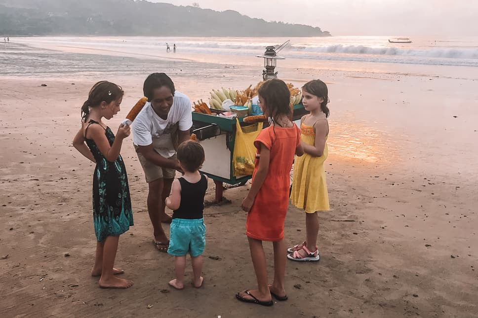 Jimbaran Bukit Peninsula Beach Corn Kids