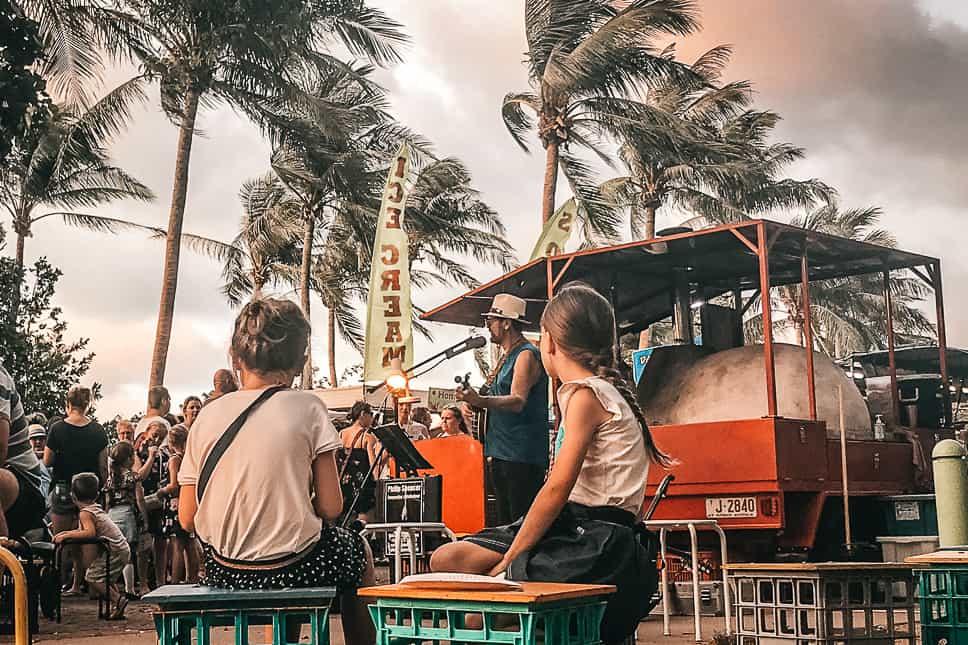Darwin Mindil Beach Sunset Market Music