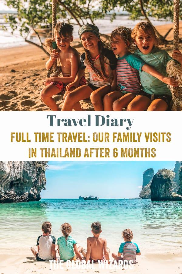 Thailand Kids Family Visit Full Time Travel