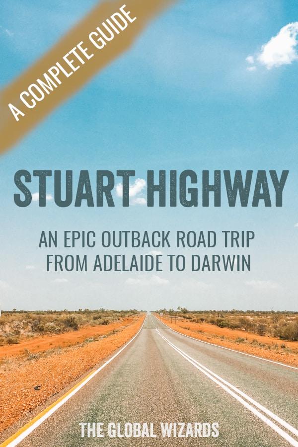Pinterest Guide Stuart Highway Outback Road Trip