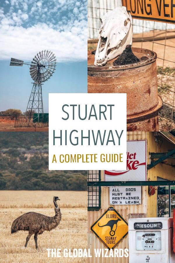 Pinterest Guide Stuart Highway Outback Adelaide Darwin